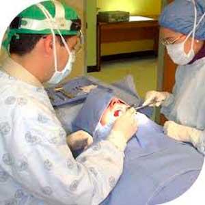 Anestesia local para quitar las muelas del juicio